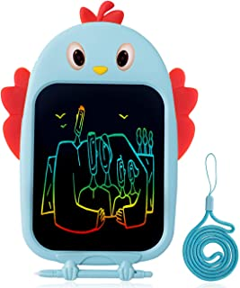 Bagpipe Gifts Toys for Age 3 4 5 6 Year Old Girls and Boys, LCD Writing Tablet 8.5 Inch Colorful Doodle Board Drawing Tablet,Blue