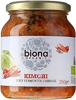 comprar comparacion Biona Kimchi Ecológico Verduras Frescas Fermentadas - Paleo, Vegano, Vegetariano - Paquete 6 X 350 G