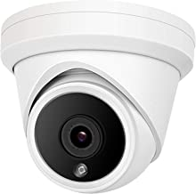 $80 » Anpviz 8MP POE IP Security Dome Camera with Microphone, Audio Indoor Outdoor, 4K Home Security Camera with Wide Angle 2.8m...