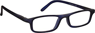 The Reading Glasses Company Matt Navy Blue Lightweight Readers Designer Style Mens Womens Spring Hinges R17-3 +2.50