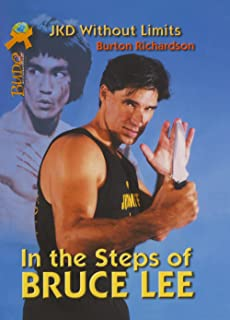 In the Steps of Bruce Lee JKD without Limits Book By Burton Richardson -BO9883A