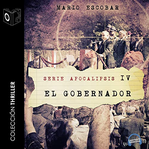 Apocalipsis IV - El gobernador [Apocalypse IV - The Governor] cover art
