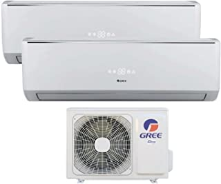 Gree by Argo Inverter Duo Multi Split - Aire acondicionado, 9000 + 12000, 25 + 30 m²