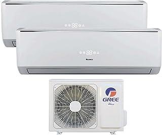 Gree by Argo Inverter Duo Multi Split - Aire acondicionado, 9000+ 12000,25+ 30m²