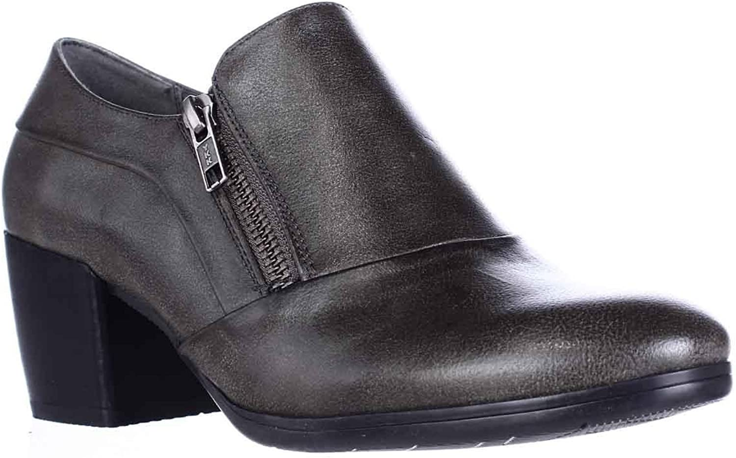 Bare Traps Womens Kelyn Closed Toe Ankle Fashion Boots, Dark Grey, Size 6.0