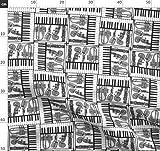 Musical, Jazz, Instrumente, Musikinstrumente, Klavier,