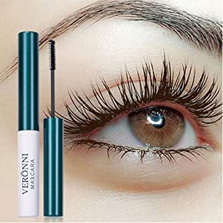 VERONNI Waterproof Colored Mascara Long Lasting Lash Extension Mascara,Cruelty Free Mascara (#01 Black)