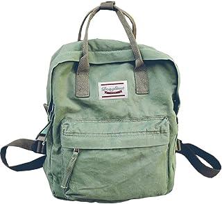 Backpacks Womens Casual Style Lightweight Cloth Canvas Backpack School Bag Travel Daypack Medium Handbag Purse
