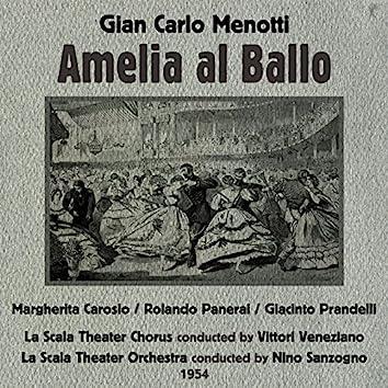 Gian Carlo Menotti: Amelia al Ballo [Opera Buffa in One Act] (1954)