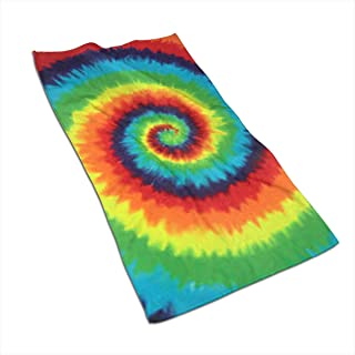 Tie Dye Kitchen Towels - Dish Cloth - Machine Washable Cotton Kitchen Dishcloths,Dish Towel & Tea Towels for Drying,Cleaning,Cooking,Baking