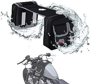 kemimoto ATV Motorcycle Tank Bag Saddle Bag Waterproof Storage Bag with Thermal Cooler Bag for Snowmobiles Honda Kawasaki Suzuki