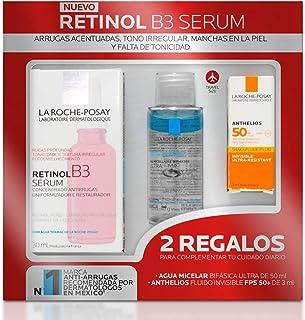 La Roche-Posay La roche posay kit de serum facial con retinol puro para arrugas profundas y manchas causadas por la exposi...