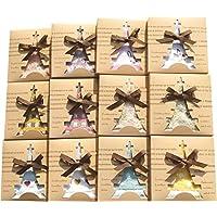 タオルの萩原 タオルハンカチ ギフト BOX 12個セット 色柄アソート 計12個 th-gift-12p
