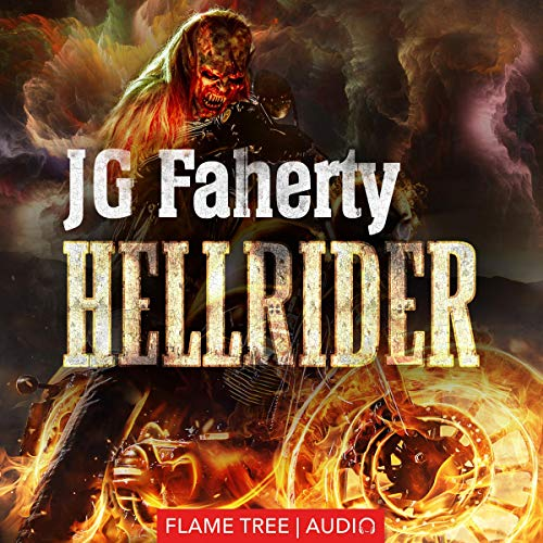 Hellrider audiobook cover art