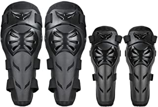 Redcolourful 4pcs/Set Motorcycle Leggings Cross-Country Riding Equipment Elbow Protection Accessories