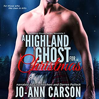 A Highland Ghost for Christmas audiobook cover art