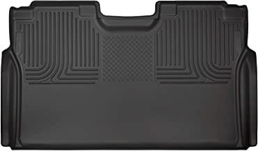 Husky Liners Fits 2015-19 Ford F-150 SuperCrew, 2017-19 Ford F-250/F-350 Crew Cab - without factory storage box Weatherbeater 2nd Seat Floor Mat (Full Coverage)