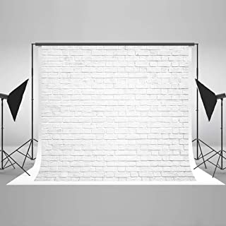 Kate 8x8ft White Brick Wall Photography Backdrops Portrait Photo Backgrounds Photo Studio Props