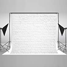 Kate 10x10ft White Brick Wall Photography Backdrops Portrait Photo Backgrounds Photo Studio Props