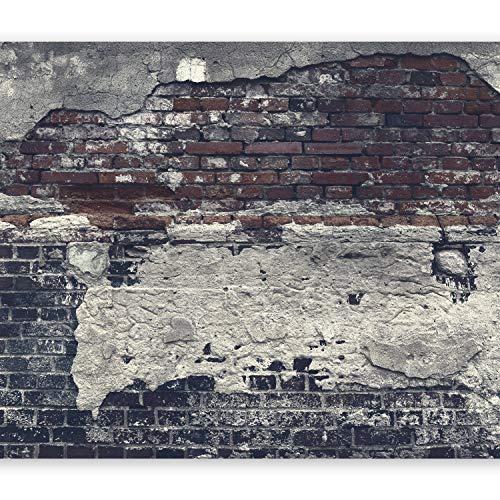 murando - Fototapete XXL Ziegelmauer 500x280 cm Vlies Tapeten Wandtapete XXL Moderne Wanddeko Design Wand Dekoration Wohnzimmer Schlafzimmer Büro Flur Ziegel Ziegelstein f-A-0503-x-c