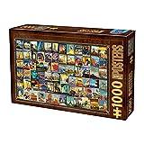 Unbekannt Puzzle de 1000 Piezas, diseño de Collage Vintage