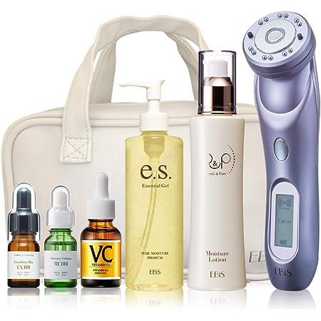 エビス化粧品(EBiS) 美顔器 超音波美顔器 ツインエレナイザープレミアム(PREMIUM) ホームエステプレミアムセット 日本製 母の日 RF 高周波 プレゼント リフトアップ たるみ 毛穴 1年保証