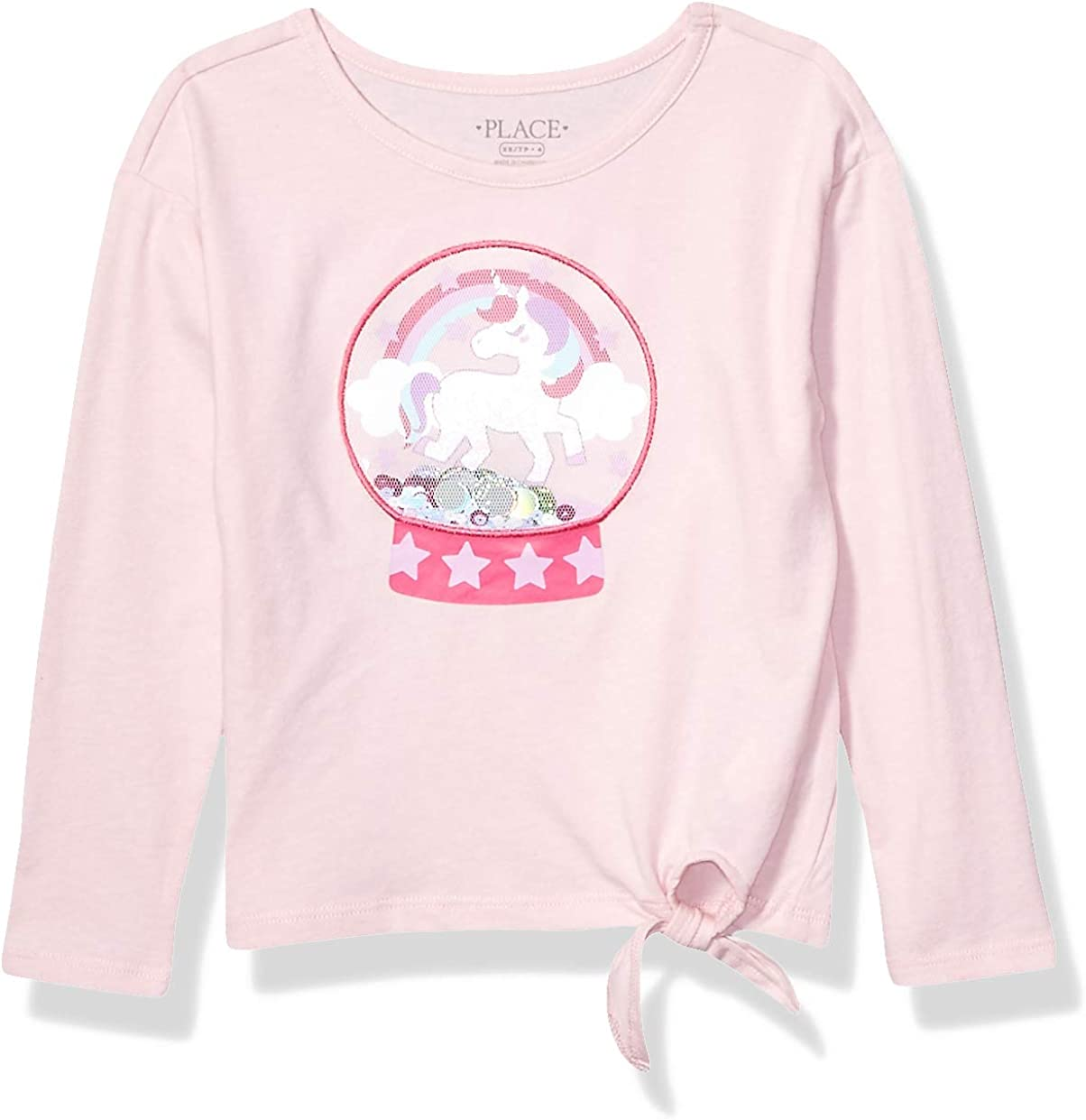 The Children's Place Girls' Big Graphic Tops