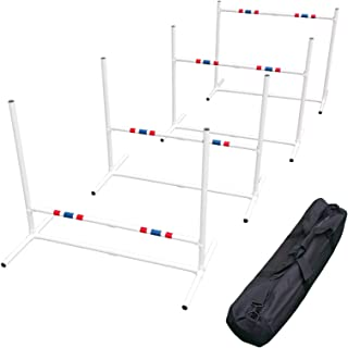 Affordable Agility Travel Jump Set (4 Jumps and Carry Bag)