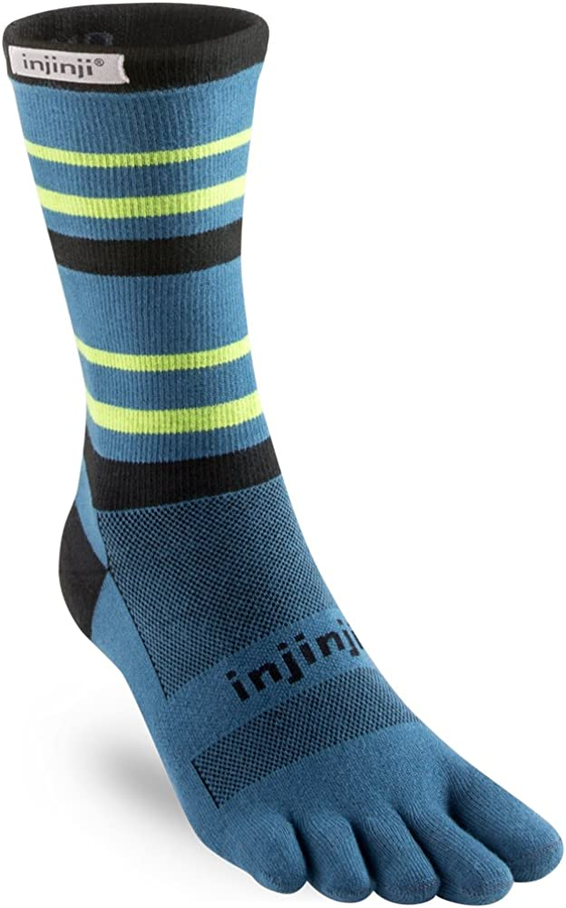 Injinji Run Lightweight Crew Toesocks