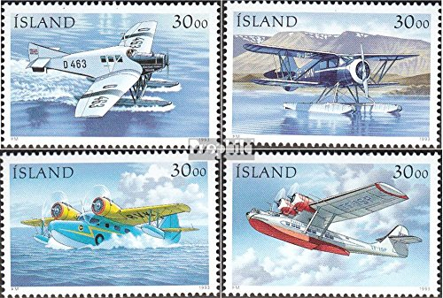 IJsland Mi.-Aantal.: 791-794 (compleet.Kwestie.) 1993 Mail vliegtuigen (Postzegels voor verzamelaars) luchtvaart