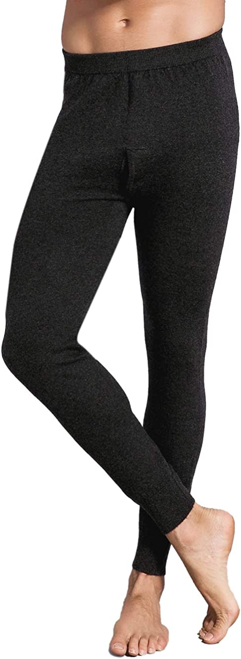 Zhili Men's long thermal underwear and leggings worm soft 上等 comfor 最新アイテム