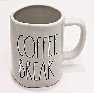 Rae Dunn by Magenta COFFEE BREAK Ceramic Mug