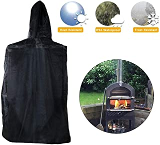 Pizza Oven Cover Weather Resistant Heavy Duty Waterproof Cover Windproof Dustproof Outdoor Fade Resistant Grill Oven Cover
