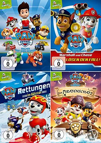 Paw Patrol - Volume 1-4 (Toggolino) im Set - Deutsche Originalware [4 DVDs]