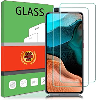 【2枚セット】 Xiaomi Redmi K30 Pro/POCO F2 Pro ガラスフィルム 強化ガラス 液晶保護フィルム Redmi K30 Pro 対応 保護フィルム 硬度9H 厚さ0.26 日本旭硝子素材AGC 気泡ゼロ 飛散防止 高...