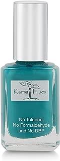 Karma Organic Natural Nail Polish-Non-Toxic Nail Art, Vegan and Cruelty-Free Nail Paint (FLORIDA MORNINGS)