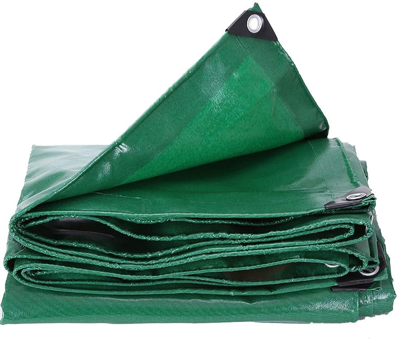 Plane YNN YNN YNN Dickes Segeltuch Regentuch Wasserdichtes Tuch, 550g   m² (Farbe   Grün, größe   2  2m) B07KN5PYGZ  Hohe Qualität und Wirtschaftlichkeit 8f2816