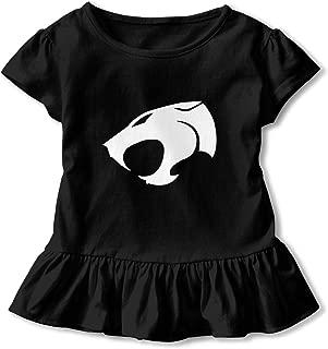 SBurton Th-underca-ts Cute Cotton Ruffle T-Shirts Round Collar Jersey