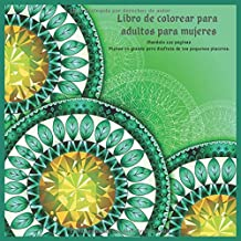 Libro de colorear para adultos para mujeres Mandala