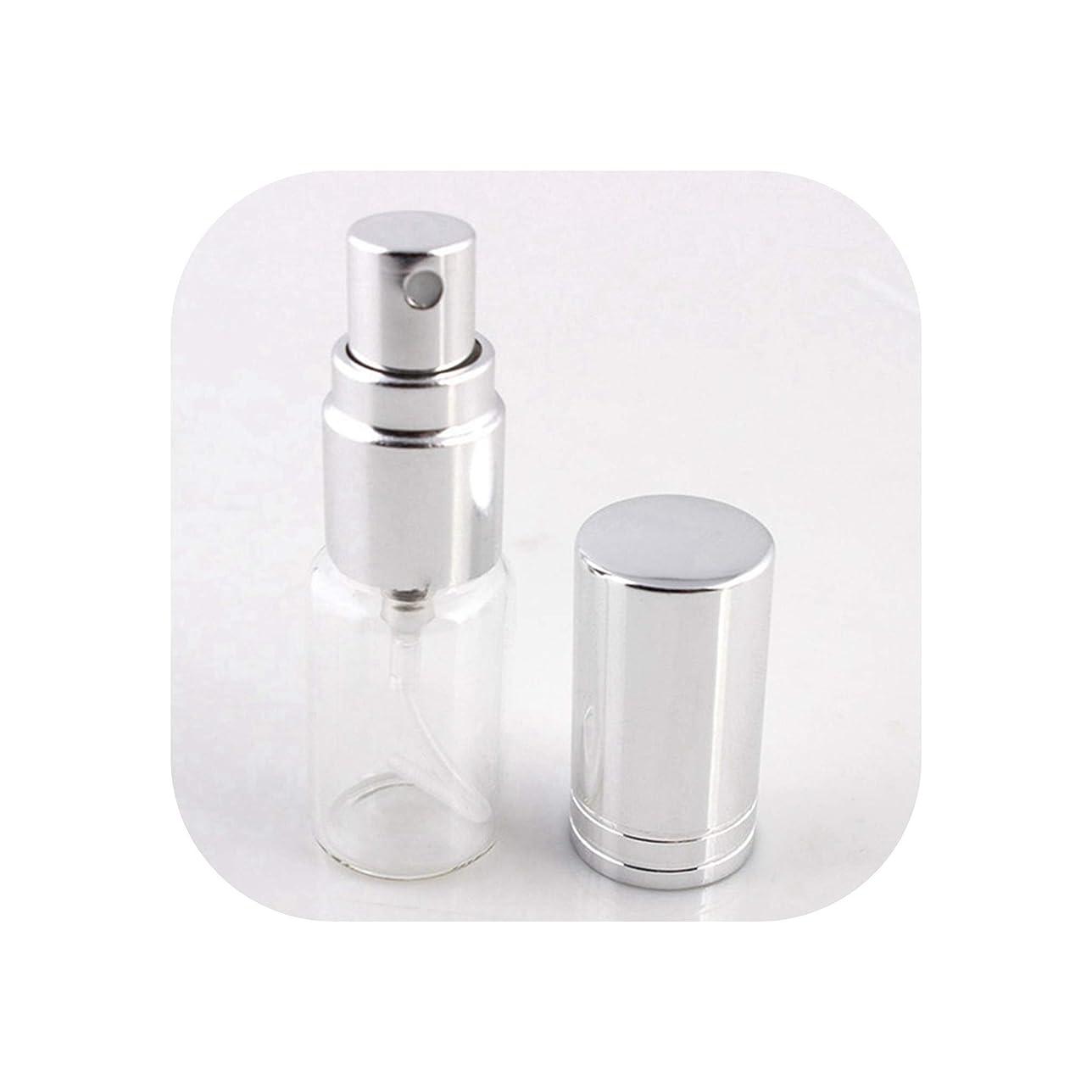 ゼロソブリケット混乱アトマイザーの1pcs 5ミリリットル/ 10MLポータブルカラフルなガラスの詰め替え香水瓶は、SV1-S、旅行のための化粧品容器で噴霧器を空にする
