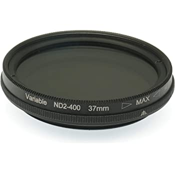 Gadget Place 67mm ND2 to ND400 Variable Neutral Density Filter for Canon EF 35mm F2 is USM