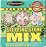 Midwest Products Premium Stepping Stone Cement Mix, 8-Pounds, Packaging May Vary (90316102)