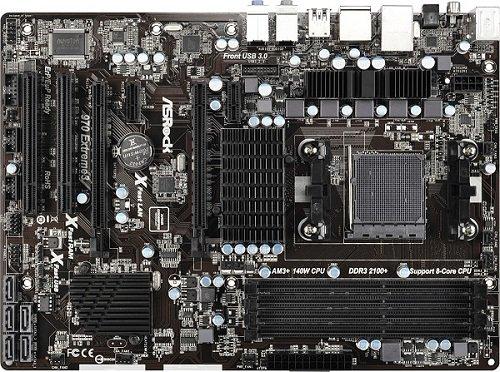 ASRock 970 Extreme3 R2.0 Socket AM3 Plus - AMD 970- DDR3- Quad CrossFireX- SATA3&USB3.0-...
