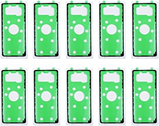 Förnyelse Reparation för skärmskydd 10 sts iPartsbuy för Samsung Galaxy Note 8 Back Bak Bakgrundskåpa Limtillbehör