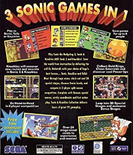 Sega Sonic & Knuckles Collection featuring Sonic 3 Hedgehog, Sonic & Knuckles and Sonic 3 & Knuckles - Windows 95/98