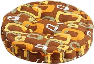 Home/Office Beautiful Round Chair Cushion Floor Cushion Pillow Seat Pad, Brown
