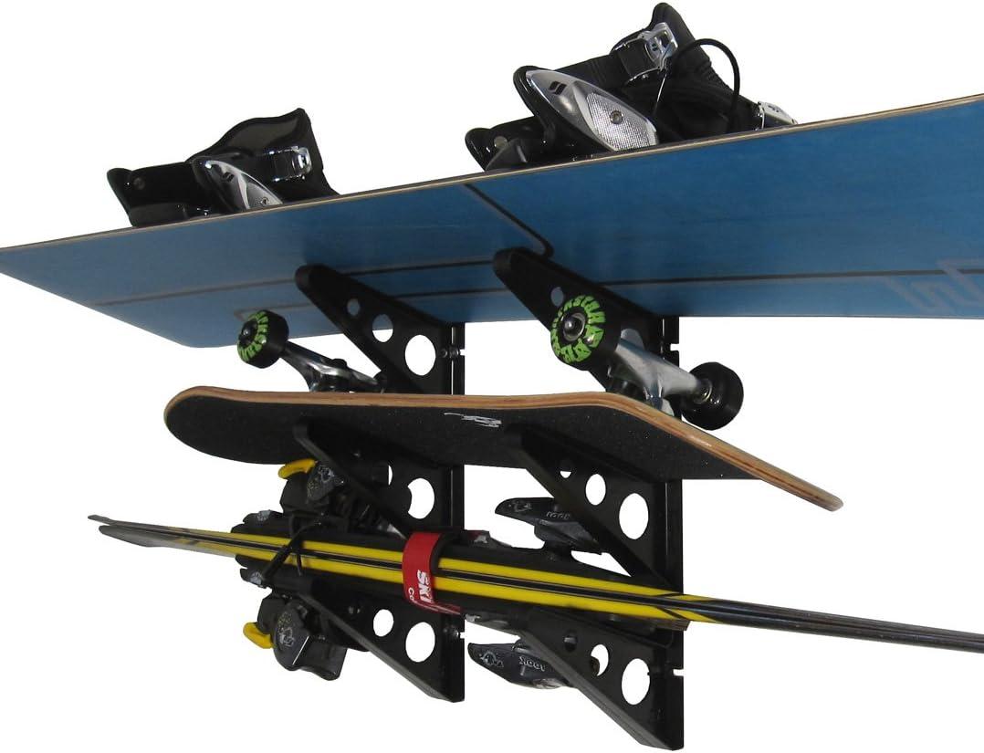 StoreYourBoard Ski and Snowboard Storage Rack : Sports & Outdoors