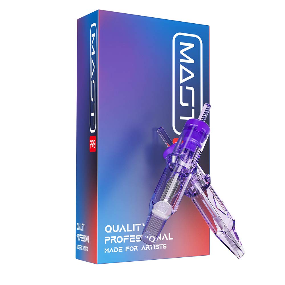 Mast Bargain Large special price !! Pro Tattoo Cartridges 20Pcs Needles Curved Magnu Disposable
