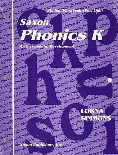 Saxon Phonics K Complete Homeschool Kit First Edition