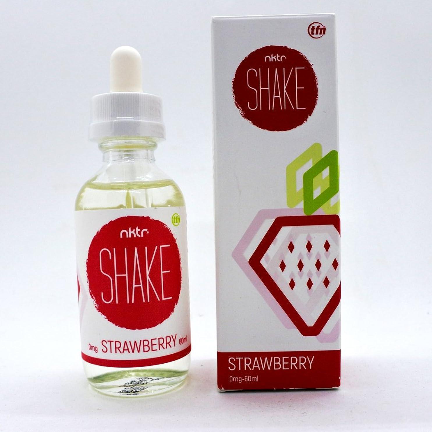 形ラブ見るSHAKE STRAWBERRY 60ml NKTR 【SQN/エスキューエヌ】 シェイク ストロベリー ネクター 電子タバコ リキッド (ストロベリー風味) 正規品